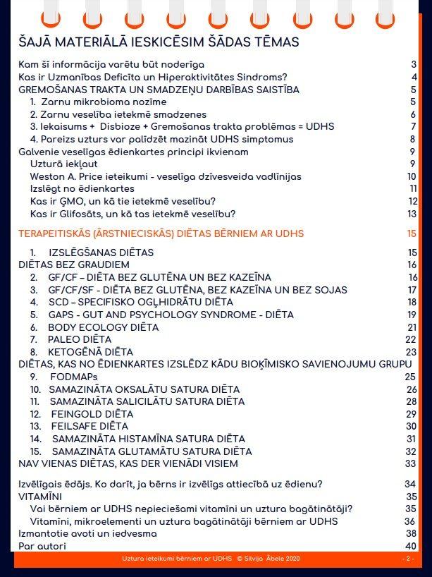 E-Grāmata   Uztura ieteikumi bērniem ar UDHS